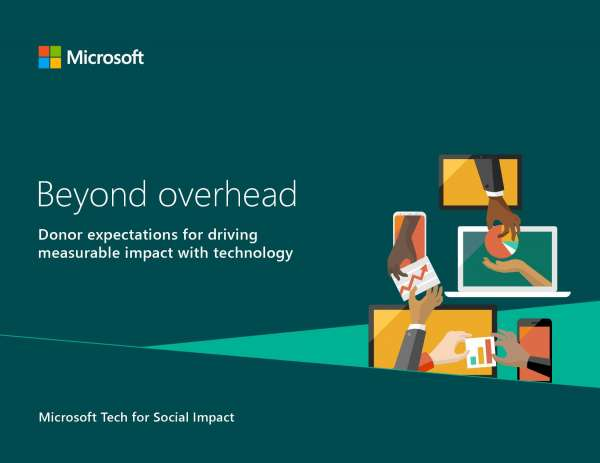 Beyond overhead: Donor expectations for driving measurable impact with technology