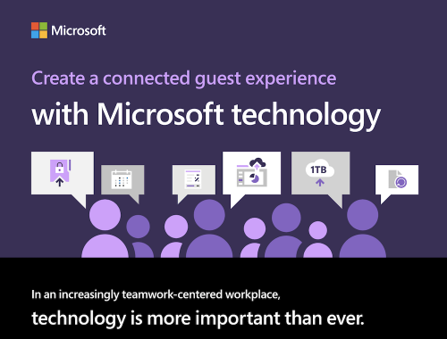 Create a connected guest experience with Microsoft technology