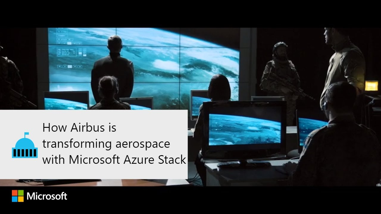 How Airbus is transforming aerospace with Microsoft Azure Stack