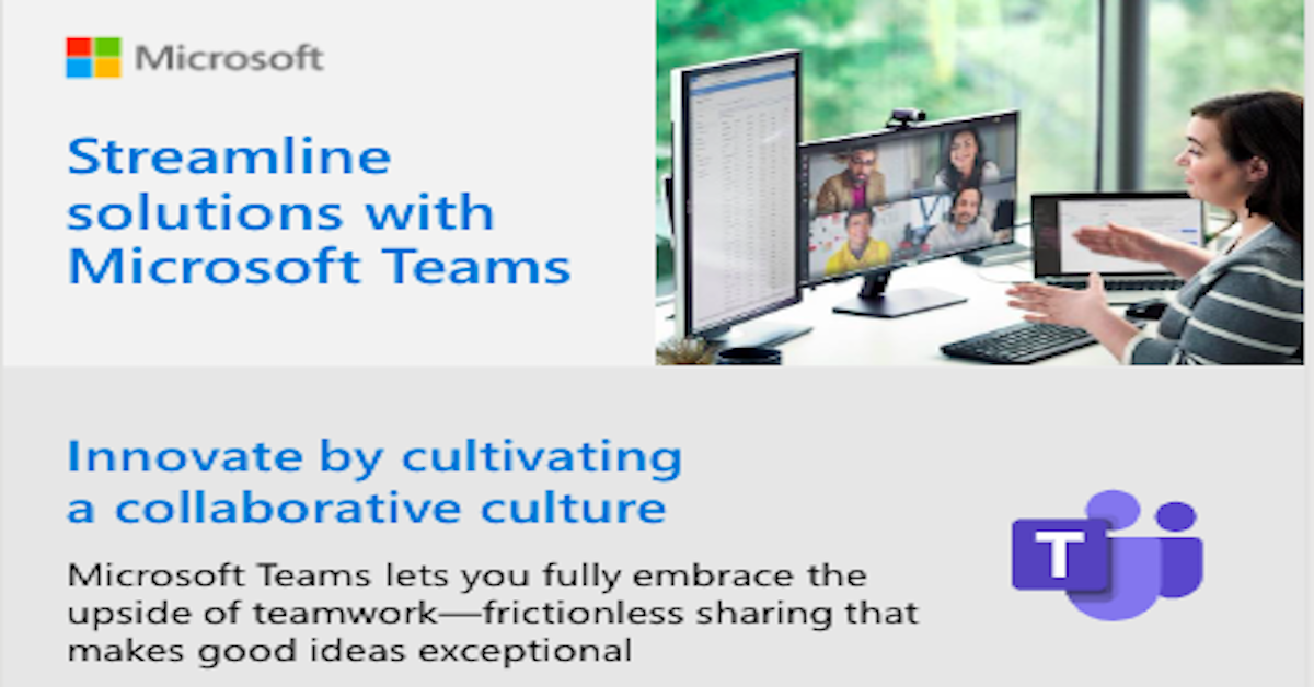 Streamline solutions with Microsoft Teams