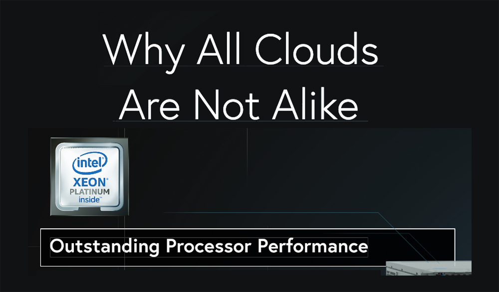 Why All Clouds Are Not Alike