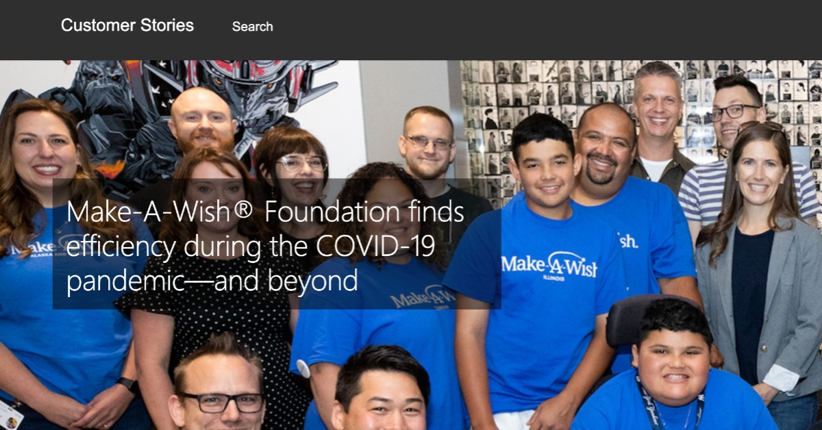 Make-A-Wish Foundation finds efficiency during the COVID-19 pandemic—and beyond